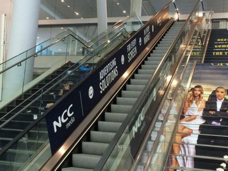 Escalator / Stair Branding